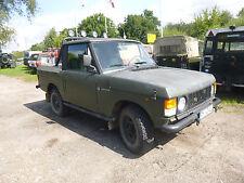 Range Rover Classic LKW und H-Kennzeichen