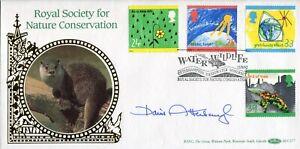 Benham Nature FDC signed by Sir David Attenborough - UACC DEALER