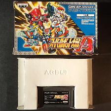 SUPER ROBOT TAISEN A Game Boy Advance JAPAN・❀・STRATEGY Nintendo GBA スーパーロボット大戦α