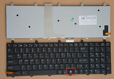For Clevo P375SM-A P377SM-A Keyboard Backlit US &Korean WIN7 KEY Bottom Right