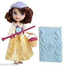 "Disney Princess Sofia Buttercup Badges Doll 5"" W/ Badges & Accessory New"