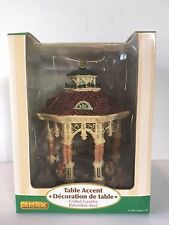 "Lemax Village Collection Enchanted Forest ""Gilded Gazebo"" 2006 GCIB"