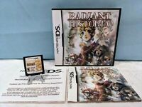 Radiant Historia (Nintendo DS, 2011) with Case & Manual - Tested & Working
