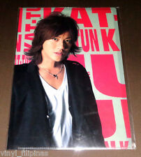 "Made In Japan:KAT-TUN,Jin Akinishi,Clear File Folder,12 x 8 1/2"",Johnny's,JE"