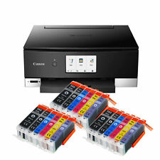 Canon Pixma TS8350 Printer Scanner Copier WLAN Cd-Druck +18 XXL Ink New
