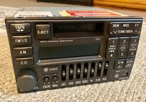 1993-99 MITSUBISHI 3000GT STEALTH INFINITY OEM AM/FM RADIO CASSETTE EQ AUX INPUT