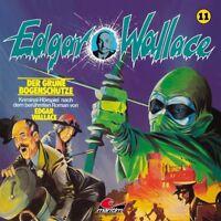 EDGAR WALLACE - FOLGE 11: DER GRÜNE BOGENSCHÜTZE   CD NEW
