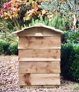 Beehive composter kit - Reclaimed Wood Effect