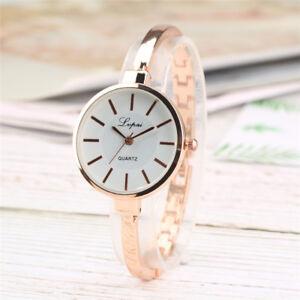 Women Watch Bracelet Wristwatch Quartz Analog Watches Steel Band Strap Fashion