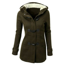 New Plus Size Women Slim Fit Coats Warm Winter Jackets Long Button Outwear S-6XL
