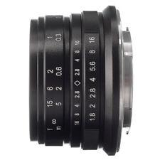 25mm F/1.8 Manual Focus Lens For Fujifilm Fiji X-mount X-Pro1 X-Pro2 X-A1 X-T10