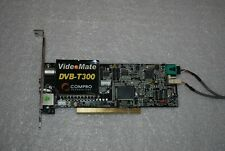 DVB-T DIGITAL TUNER PCI CARD VIDEO CAPTURE Compro VideoMate DVB-T300