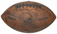 """NFL Cleveland Browns 9"""" Throwback Football"""