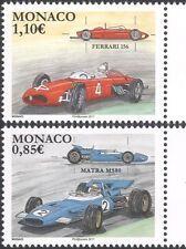 Mónaco 2017 Motor Sports/coches/Racing/Grand Prix/ferrari/Matra 2v Set (mc1115)