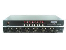 4x8 4:8 VGA PC RGBHV Video Stereo Audio Matrix Switch Switcher Splitter SB-4148