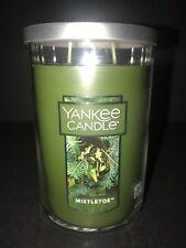 Yankee Candle MISTLETOE 22 OZ Large 2 Wick Tumbler