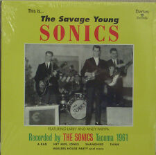 The Sonics - the Savage Young Sonics LP Norton Records Garage Punk