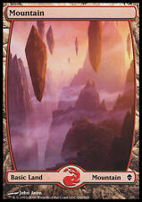 MTG MOUNTAIN FOIL EXC - MONTAGNA #242 - ZEN - MAGIC
