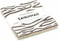 "Savannah Moda Charm Pack 42 100% Cotton 5"" Precut Quilt Squares by Gingiber"