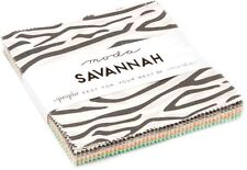 "Savannah Moda Charm Pack 42 100% Cotton 5"" Precut Quilt Squares by Gingiber"