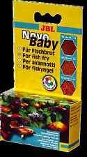 JBL NovoBaby 3x10ml Fish Fry Food 3 Stage Complete Diet Baby Tank Aquarium LL