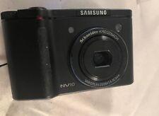 Samsung Digimax NV10 10.1MP Digital Camera - Black