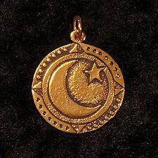 Sternzeichen ₪ Anhänger Heulsaf Y Gaeaf ₪ 10.-31.Dezember ₪ Silber, vergoldet
