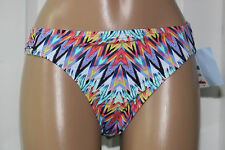 NEW Bar III RAYS Multi Ruched Sash Side Tab Hipster Bikini Swim Bottom XL XLarge