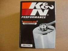 Big Dog Motorcycles K&N Chrome Oil Filter Kn-170C Wrench Off American Ironhorse