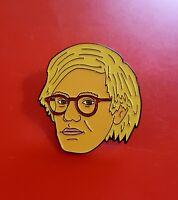 Andy Warhole Pin Retro Art Pin Enamel Brooch Badge Lapel