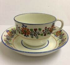 Rathbone Bute Cup And Saucer, Hand Painted Patten 108 c1812-1835