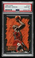 1996-97 Fleer Michael Jordan #123 PSA 10 HOF Gem Mint