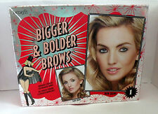 Benefit Bigger & Bolder Brow Buildable Color Kit Dramatic Brows BOXED