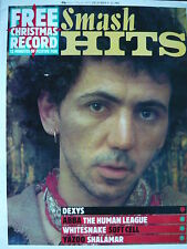 SMASH HITS 9/12/82 - DEXYS MIDNIGHT RUNNERS - SOFT CELL - HUMAN LEAGUE
