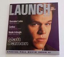 LAUNCH CD ROM MAGAZINE SPECIAL FALL MOVIE ISSUE #21 MATT DAMON CANIBUS