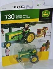 Ertl Holiday Tractor - JOHN DEERE 730 TRACTOR - 1:64 Traktor mit Schneeflocken