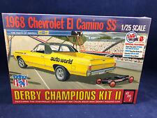 AMT 1968 Chevrolet El Camino SS Derby Champions Kit II 1:25 Scale Model 1018 NIB