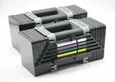 (2) PowerBlock Elite EXP Adjustable Dumbbells 5-70 lbs - Slightly used