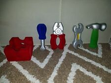 5 Piece soft toy Tools Little Handyman *botique* Sensory