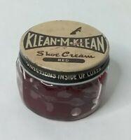 Vintage Klean M Klean Shoe Cream Red Polish Ad Advertisement