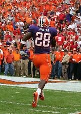 C J SPILLER CLEMSON TIGERS FOOTBALL PHOTO PRINT & COIN