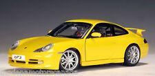 1999 PORSCHE 911 CARRERA GT3 (996) YELLOW AUTOART #77812 1:18  BRAND NEW IN BOX