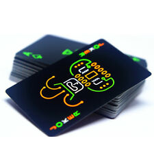 Poker Set Glow In The Dark Novelty Fluorescent Luminous Poker Playing Cards New