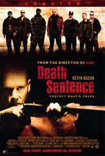 DEATH SENTENCE Movie POSTER 27x40 C Kevin Bacon Garrett Hedlund Kelly Preston