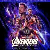 Avengers: End Game OST - Alan Silvestri [CD] Sent Sameday*