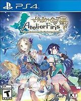 Atelier Firis The Alchemist and the Mysterious Journey PS4 NEW FREE SHIPPING