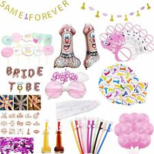 Bachelorette Party Bride To Be Funny Drinking Penis Straw Hen Party Confetti