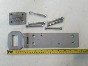 Chubb Heavy Duty Hasp And Staple Padlock Bar High Security Galvanised Shed Gate