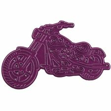 On The Road Motorcycle, Steel Cutting Dies CHEERY LYNN DESIGNS - NEW, B515