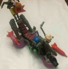 1990 TMNT Vehicle Almost Complete Bebop Psycho Cycle Motorcycle